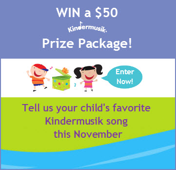 Kindermusik November Song Sweepstakes