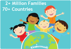 Kindermusik serves 2+ Million Families in 70+ Countries