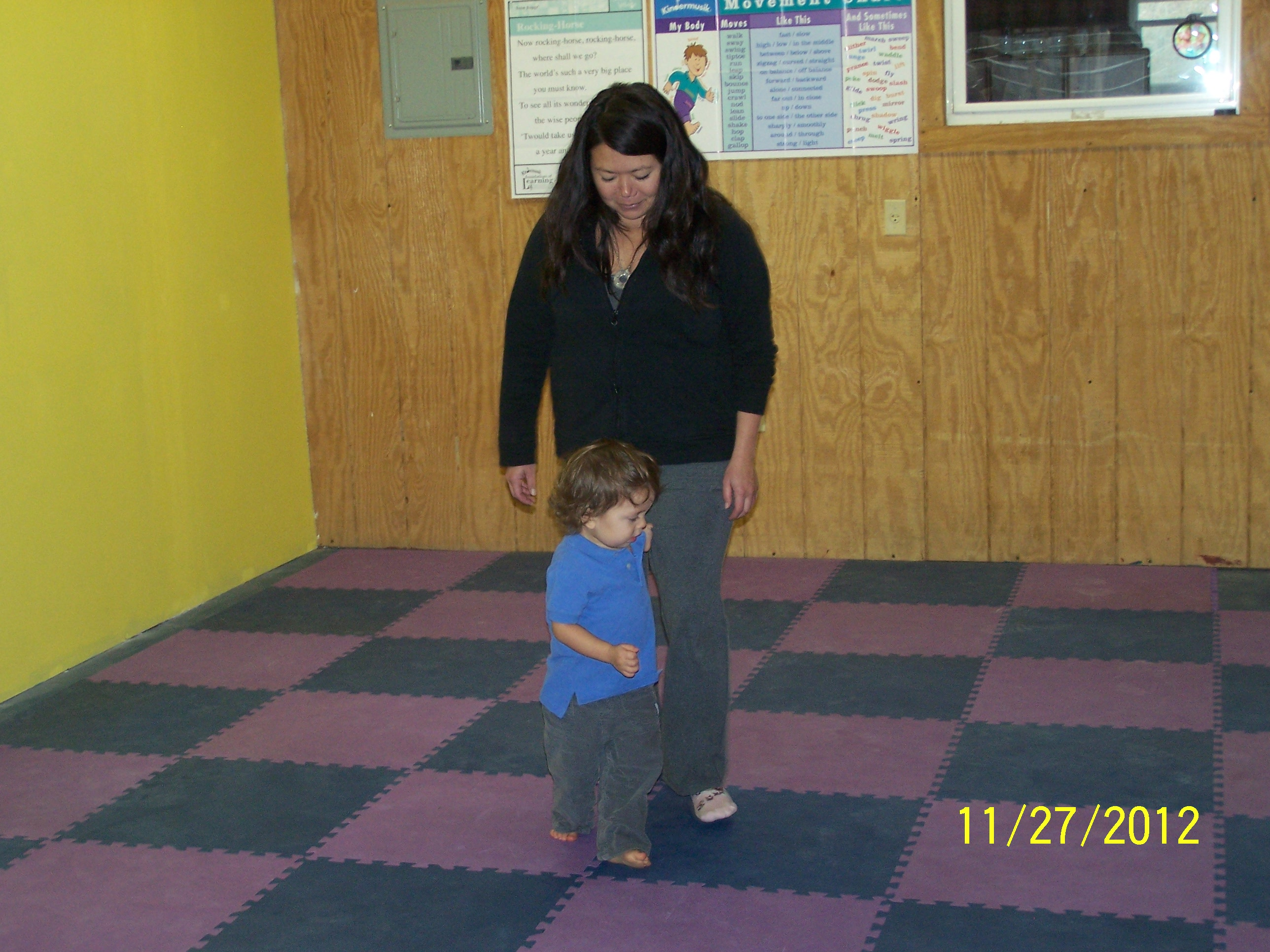 During Wiggle and Grow class