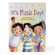 It's Music Day! Paperback Book