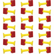 Kindermusik One-Bell Red/Yellow Jingle, set of 21
