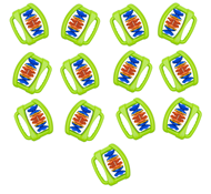 Clip Clap, set of 13