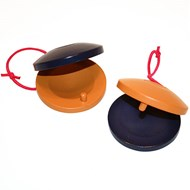 Spring-Back Castanets, pair