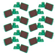 Kindermusik Green Sandblocks, set of 13 pairs